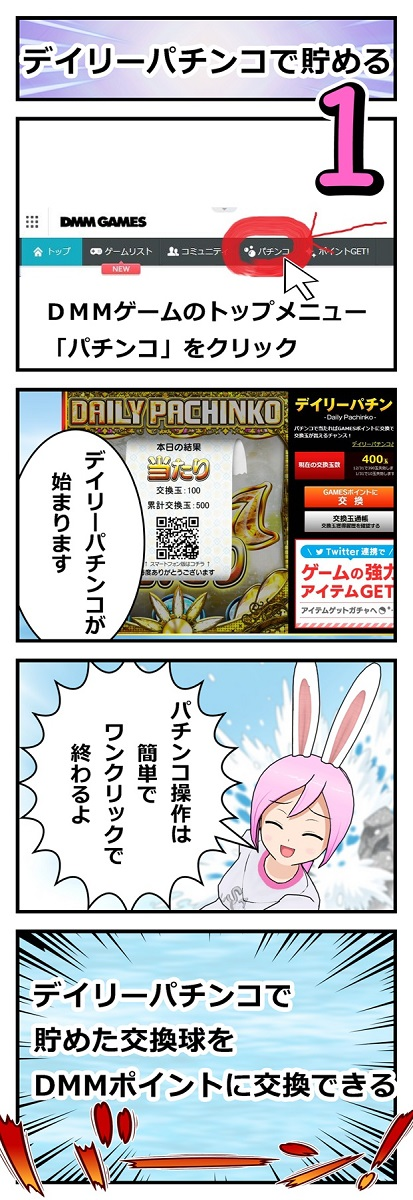 DMMポイントを無料
